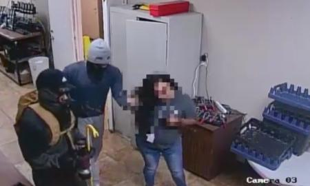 Local Woman Tied Up During Robbery